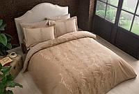 TAC сатин delux Mauna tas семейный комплект постельного белья