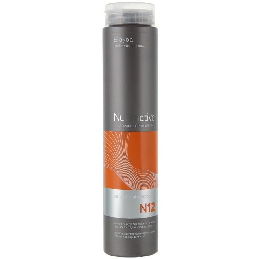 Erayba Collastin Shampoo N12 Питательный шампунь с коллагеном и эластином 250 мл