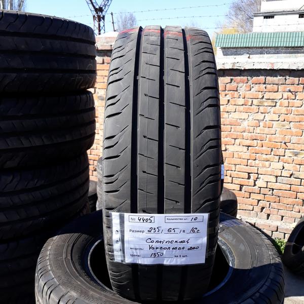 Бусовские шины б.у. / резина бу 235.65.r16с Continental ContiVancontact 200 Континенталь