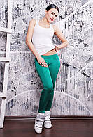 Леггинсы зеленые, фото 1