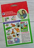 Развивающая игра на магнитах. Мой маленький мир: Зоопарк VT3106-02 Vladi Toys Украина, фото 3