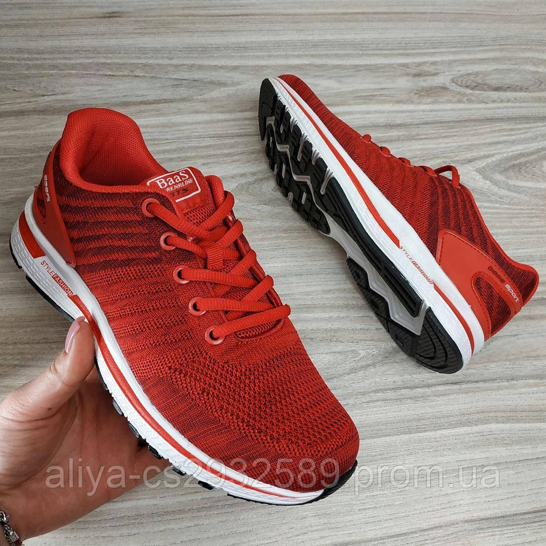 Кроссовки женские BaaS 1523-8 Fashion 556054 Red