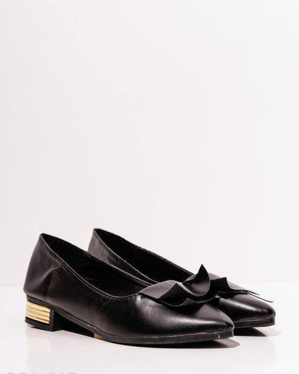 530135511 Черные туфли-лодочки на низком каблуке (37,38,39,36), цена 290,18 ...