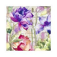 Салфетки декупажные Jet Papier GmbH Осенние цветы 33x33 см 17.5 г/м2 20 шт ti-flair 4103070026607