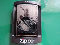 Бензиновая зажигалка ZIPPO «Spider Man». Лазерная гравировка, копия, фото 1
