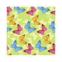 Салфетки декупажные Jet Papier GmbH Бабочки зеленые 33x33 см 17.5 г/м2 20 шт ti-flair 4103070075155