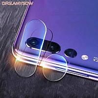 Защитное стекло на камеру Huawei Nova 3e
