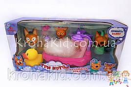 """Игровой набор """"Три кота"""" ванная с фигурками и аксессуарами YM015"""
