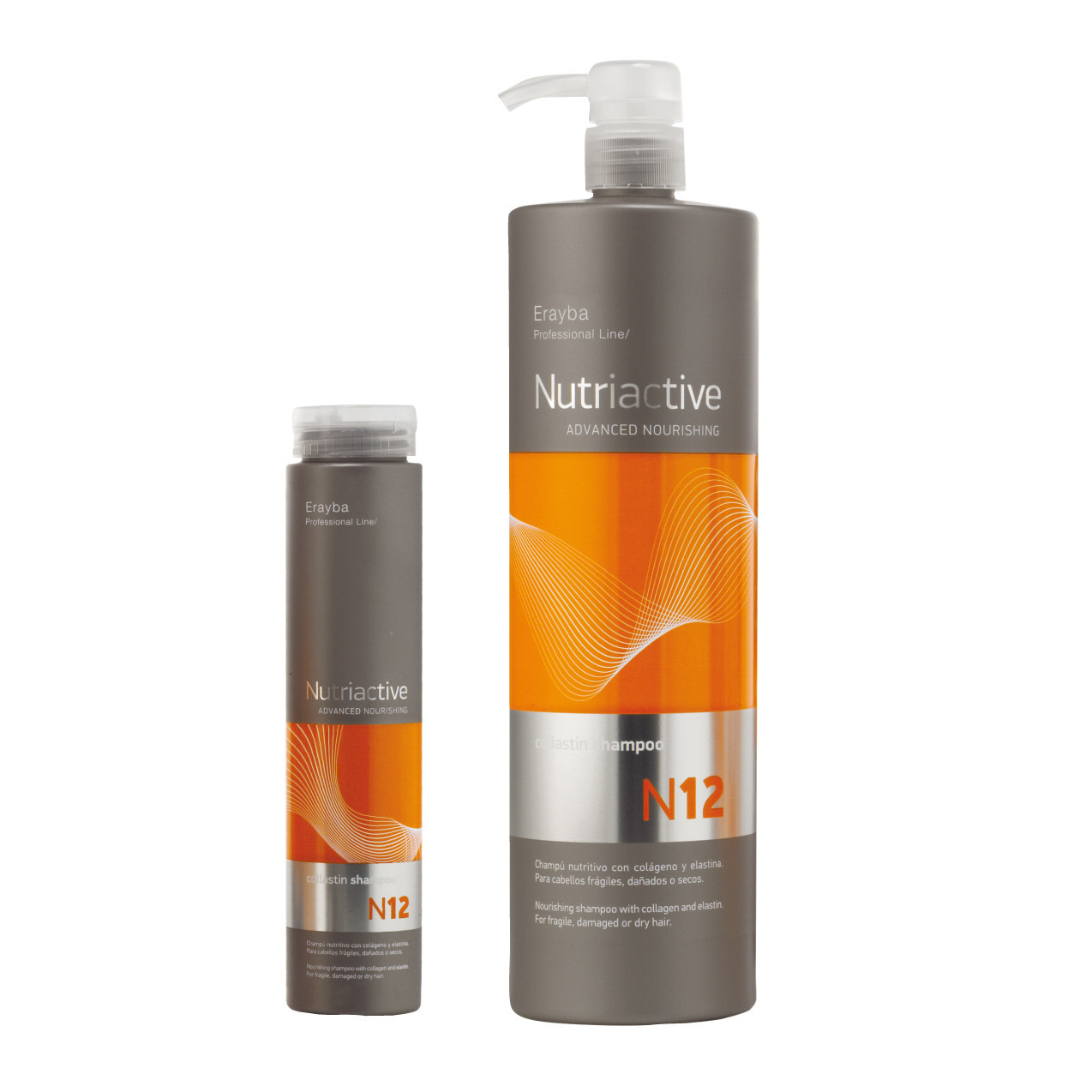 Питательный шампунь с коллагеном и эластином Erayba Collastin Shampoo N12 1000 мл