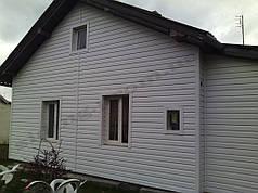 Сайдинг Альта профіль білий розміром 3,66 х 0,23 см