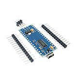 Arduino Nano V3.0 (ATmega328/ch340g - MiniUsb - UART) 5 В. 16 мГц. с USB кабелем, фото 5