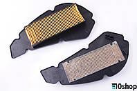 Элемент воздушного фильтра   4T GY6 125/150   GRACE   (бумажная гармошка в пластике)   KM