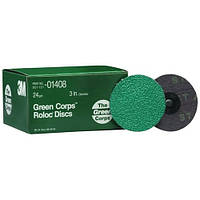 3M™ 01406 Фибровые круги Green Corps, Р50, 76 мм