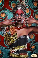 Африка-1 Схема под вышивку бисером