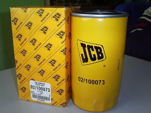 02/100073 фильтр масляный JCB 3сх, 4сх