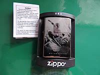 """Фирменная бензиновая зажигалка Зиппо «Spider-mаn"""" копия, фото 1"""