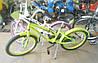Велосипед 2-х кол. Azimut Beach 20'' розовый с корзинкой, фото 8