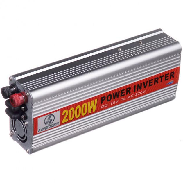 Преобразователь напряжения авто инвертор Handa 12-220V 2000W