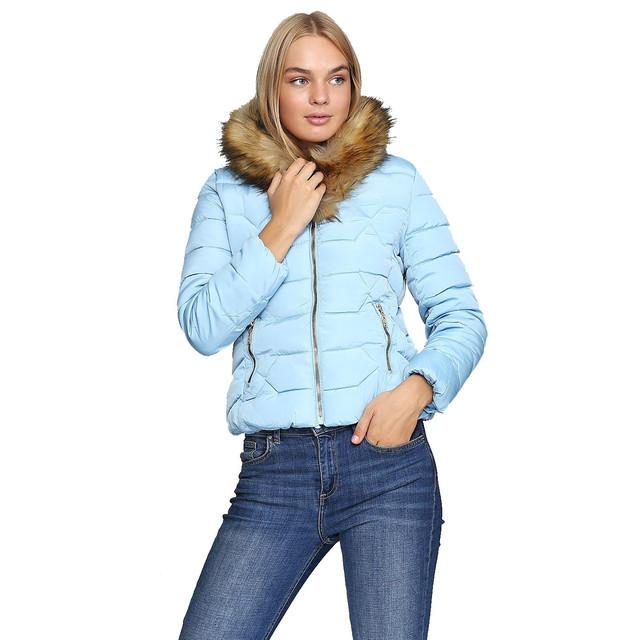 Женские зимние куртки и пуховики оптом