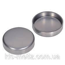 Крышка для укупорки вдавливанием стальная DIN 443 от М8 - М50