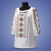 "Женская вышиванка на белом и черном лене ""Прадавні традиції"""