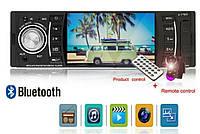 "Автомагнитола Рioneer 4514 bluetooth,4'1""экран.usb,cd+пульт на руль"