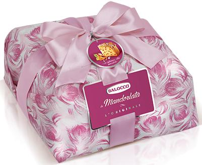 Пасхальный кекс Balocco la Mandorlata L'originale в подарочной упаковке, 1 кг