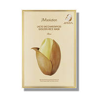 Маска для выравнивания тона JMsolution Lacto Saccharomyces Golden Rice Mask Rice