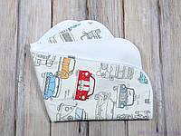 Пеленка непромокаемая (размер 60*80 см), Машинки, фото 1