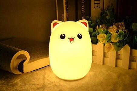 Силиконовые ночники-светильники