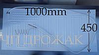 Испаритель-лепесток 100 х 45 см.  с капилляром .