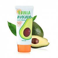 Солнцезащитный крем с авокадо SWLD BANIA Avocado Sun Cream SPF50+ PA++++