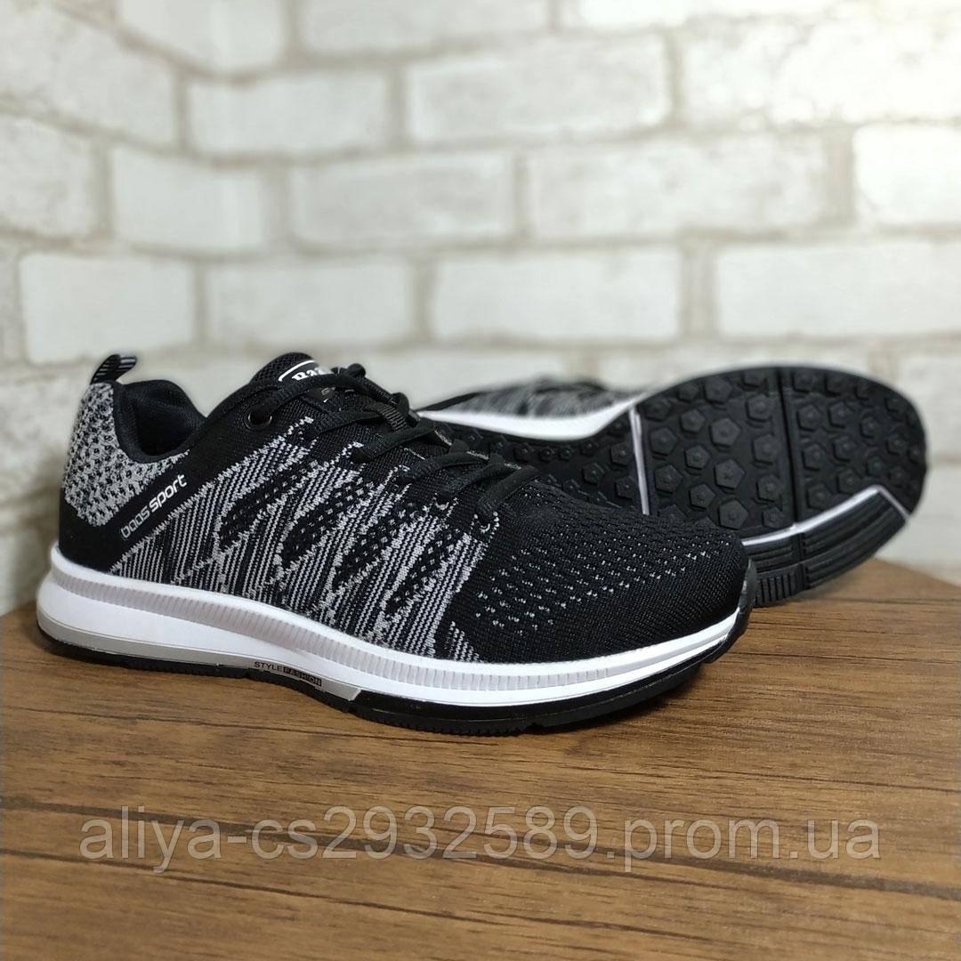 Кроссовки мужские BaaS 598 RT Sport 555862 Black Gray