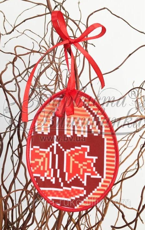 Пошита Великодня іграшка для вишивки ТР-295 Барвиста вишиванка
