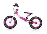 Беговел велобег Milly Mally Young (Польша), розовый, фото 6