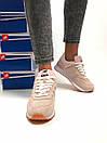Женские кроссовки New Balance 574 бежевые с розовым, фото 5