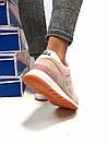 Женские кроссовки New Balance 574 бежевые с розовым, фото 10