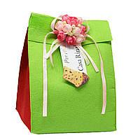 Кулич с цукатами и изюмом ( фетр конверт ) Casa Rinaldi 500г, фото 1