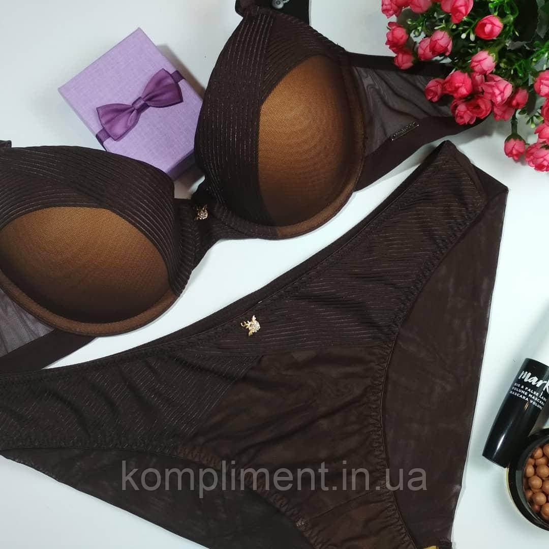 Комплект женского нижнего белья Balalaum  9373 черный