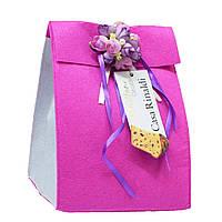 Кулич с цукатами и изюмом (фетр конверт ) Casa Rinaldi 500г, фото 1