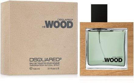Оригинальный мужской аромат Dsquared2 He Wood
