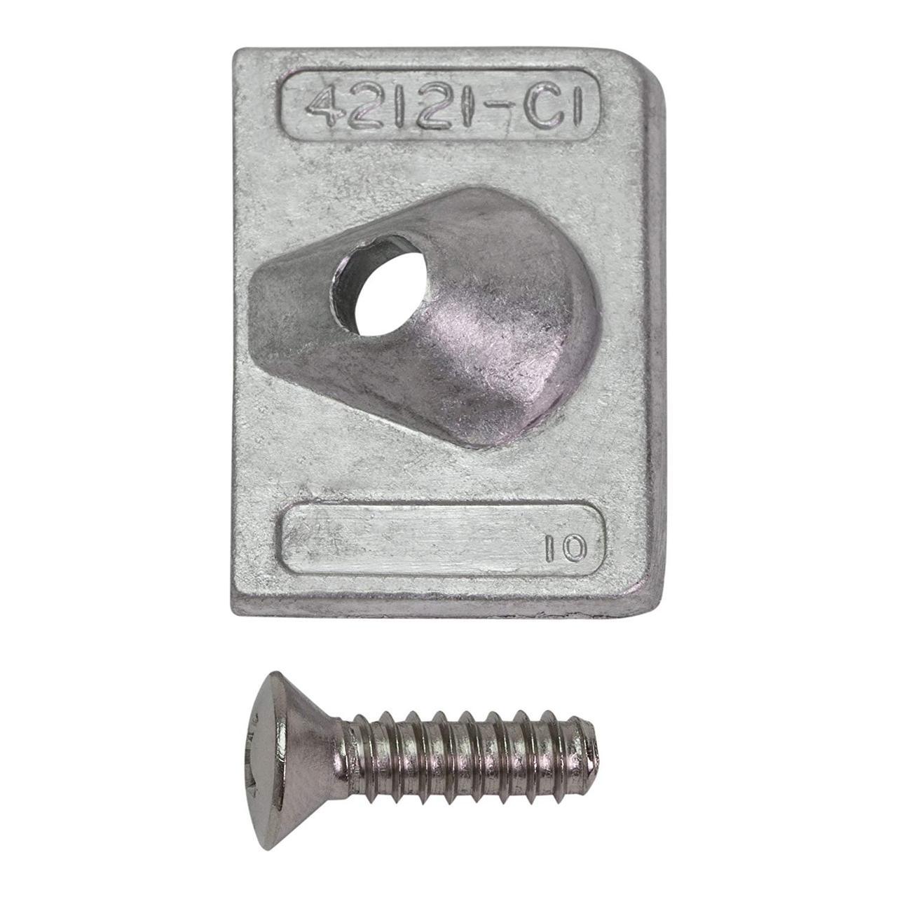 Анод антикоррозионный алюминиевый Mercury [42121Q02]