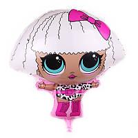 Кулька фігурний надувний, LOL діва - 60 см