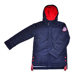 Куртка демисезонная синего цвета для мальчика, Jie Kei