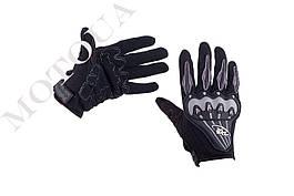 Рукавиці (Перчатки) AXE RACING (size: M, чорні)