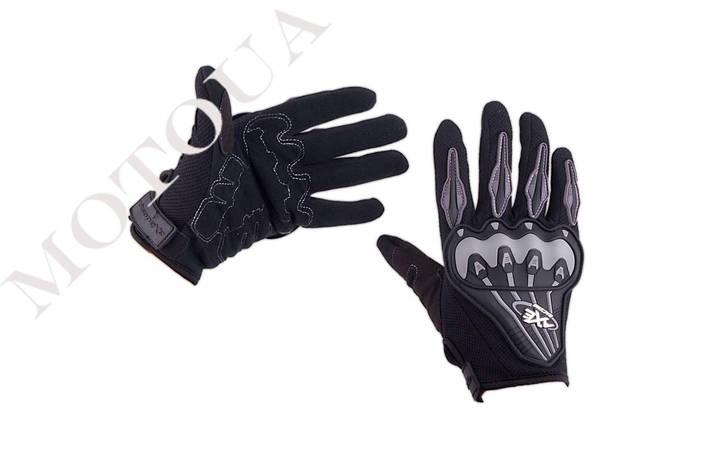 Рукавиці (Перчатки) AXE RACING (size: M, чорні), фото 2