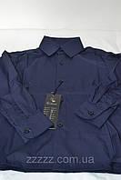 Детская синяя рубашка VALENSIA (оптом)