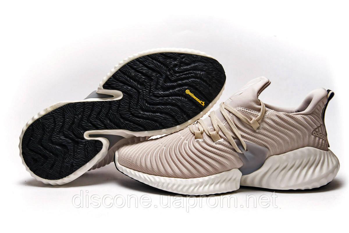 Кроссовки мужские 15413 ► Adidas AlphaBounce Instinct, бежевые ✅SALE! % ► [ нет в наличии ]