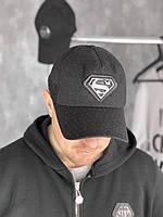 Бейсболка Superman D6504 черная