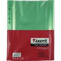 Файл А4+, глянцевый, 40мкм (100 шт.) зелений 2004-26-А